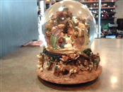 NATIVITY SET SNOW GLOBE